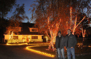 pacific event services, pes, christmas lighting, christmas lights, corporate events, lighting, event lighting