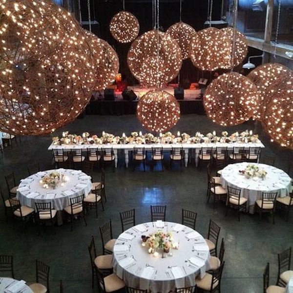 , chandeliers, urban, rustic, chic, pacific event lighting, pes, special events, event lighting, new lighting trends